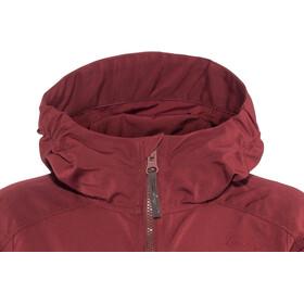 Lundhags Jr Habe Jacket Dark Red